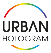 URBAN Hologram Logo Color
