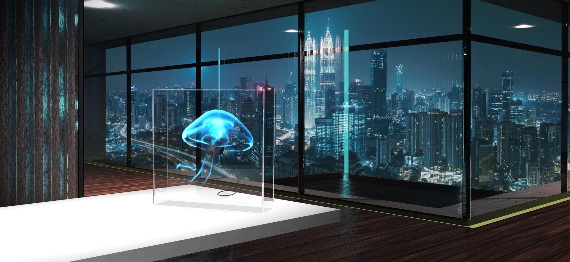 URBAN Hologram Banner Kuala Lumpur